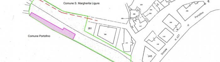 Planimetria area parcheggio